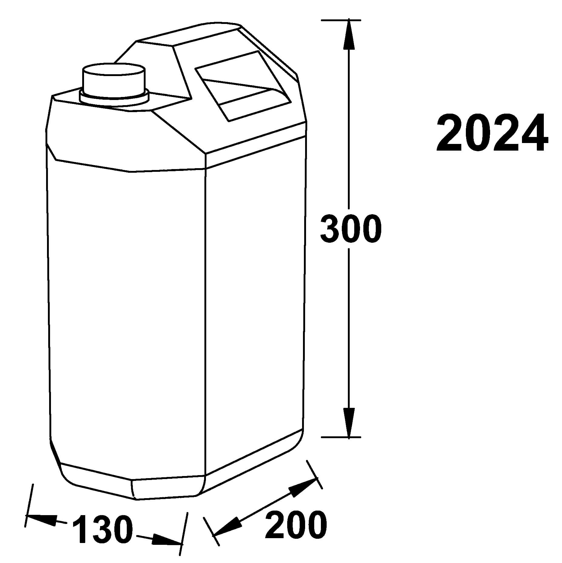 tank dimensions