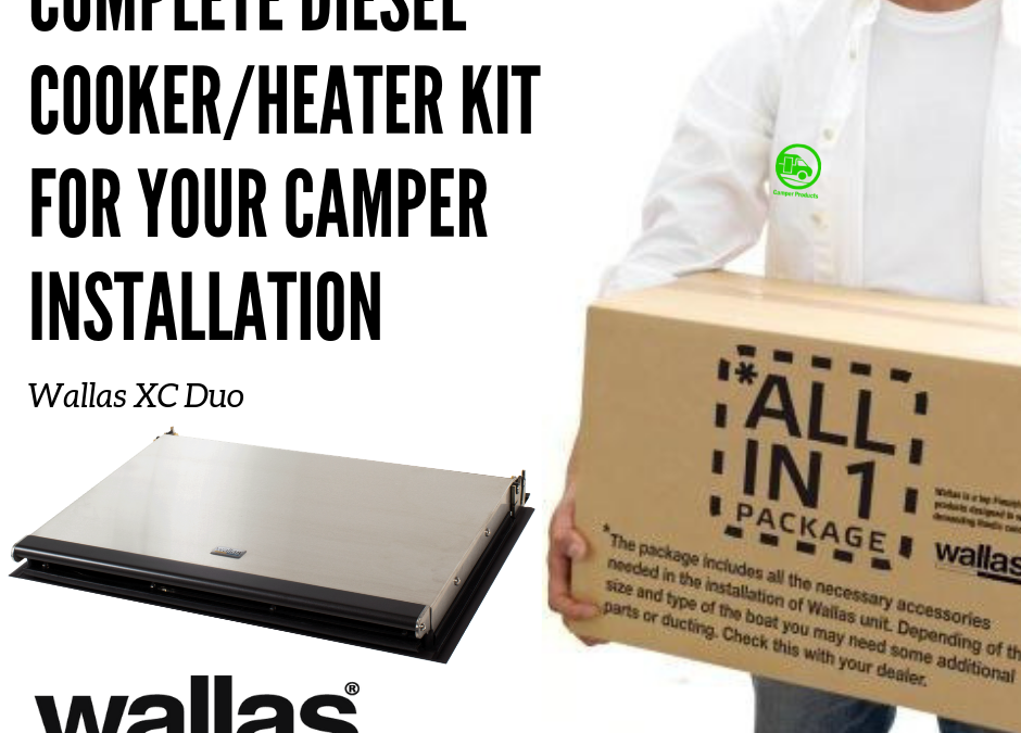 Complete kits for your Camper installation