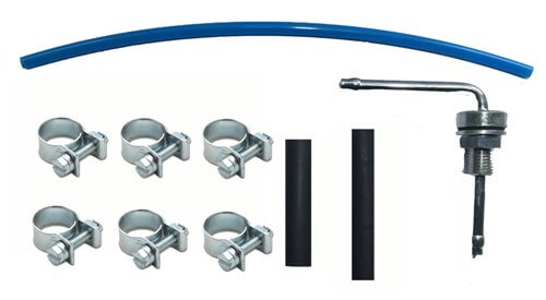 Fuel tank fittings kit