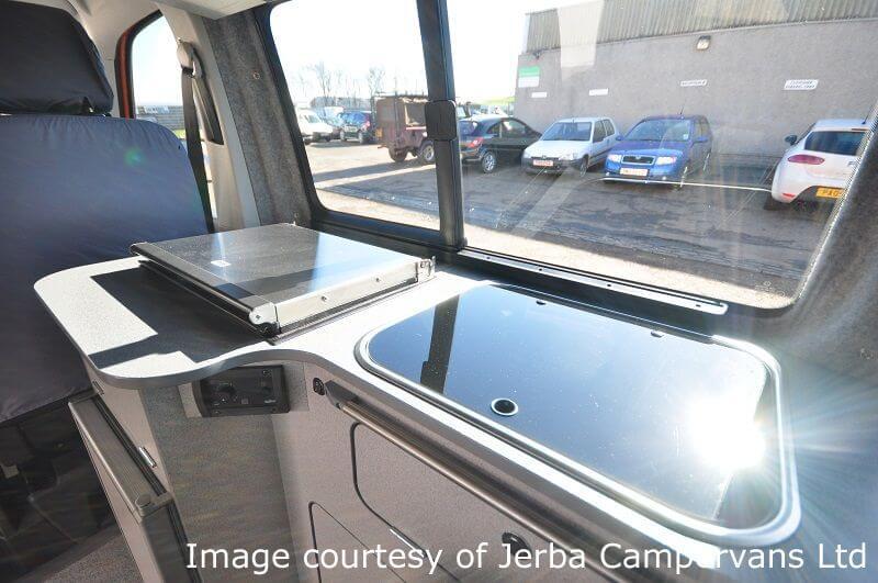 Jerba campervan XC Duo install